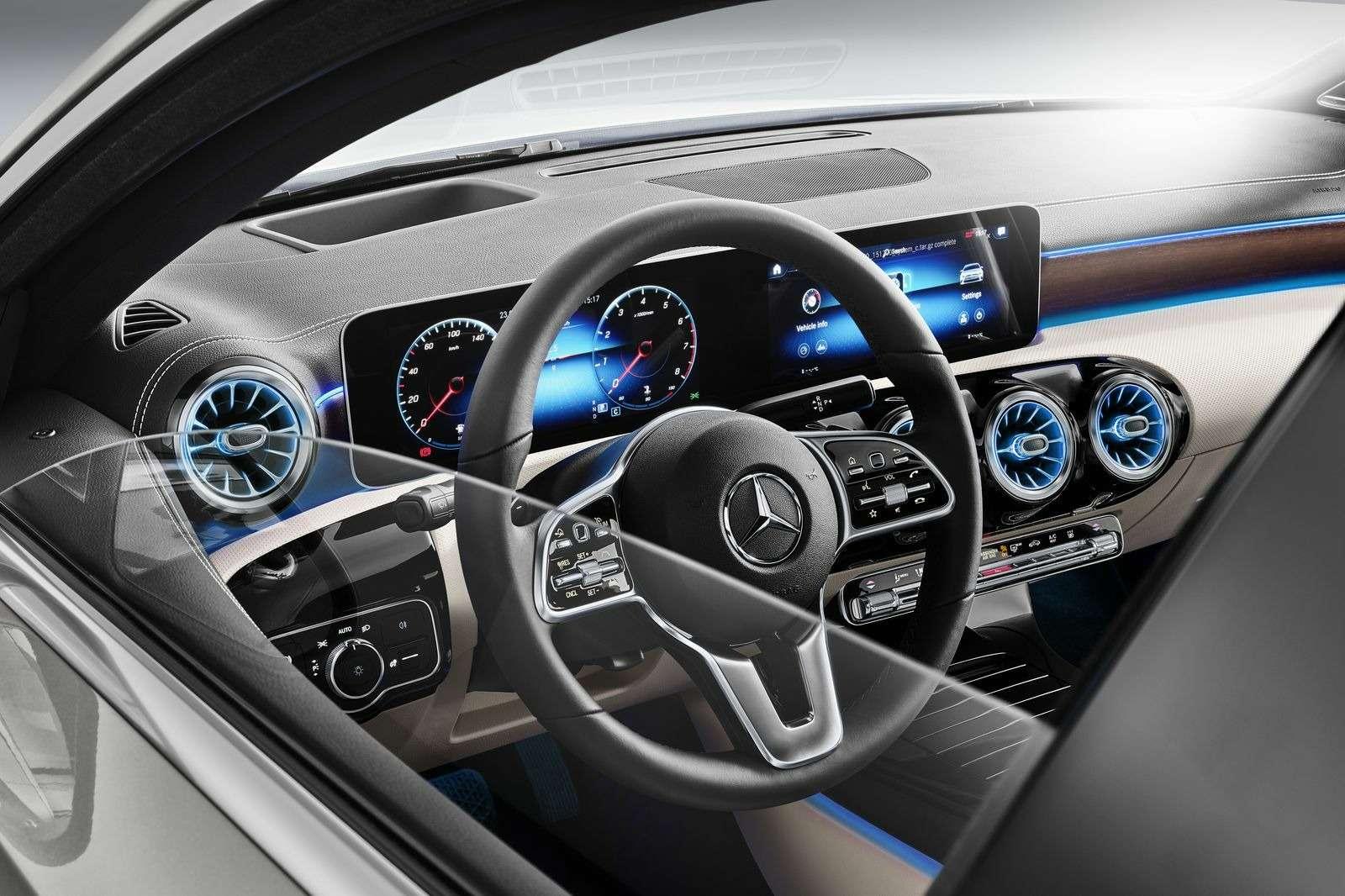Евростандарт: представлен короткий седан Mercedes-Benz A-класса— фото 890437