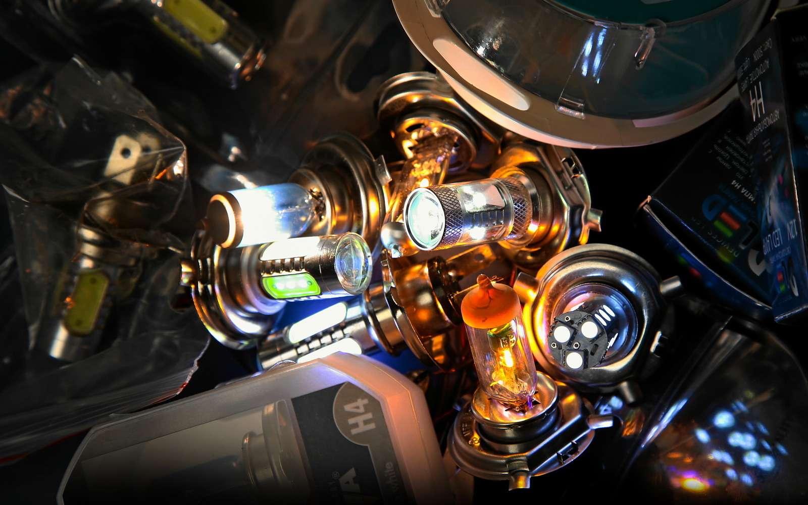 Мученье— свет: нестандартные лампы H4в штатной фаре— фото 569026