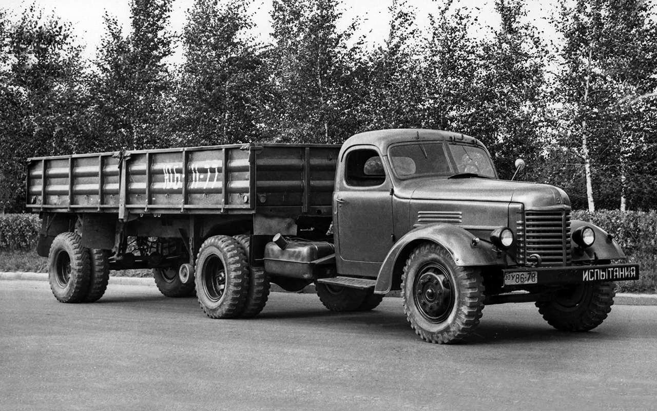 Заслуженный грузовик СССР— ретротест ЗИС-150— фото 1150084