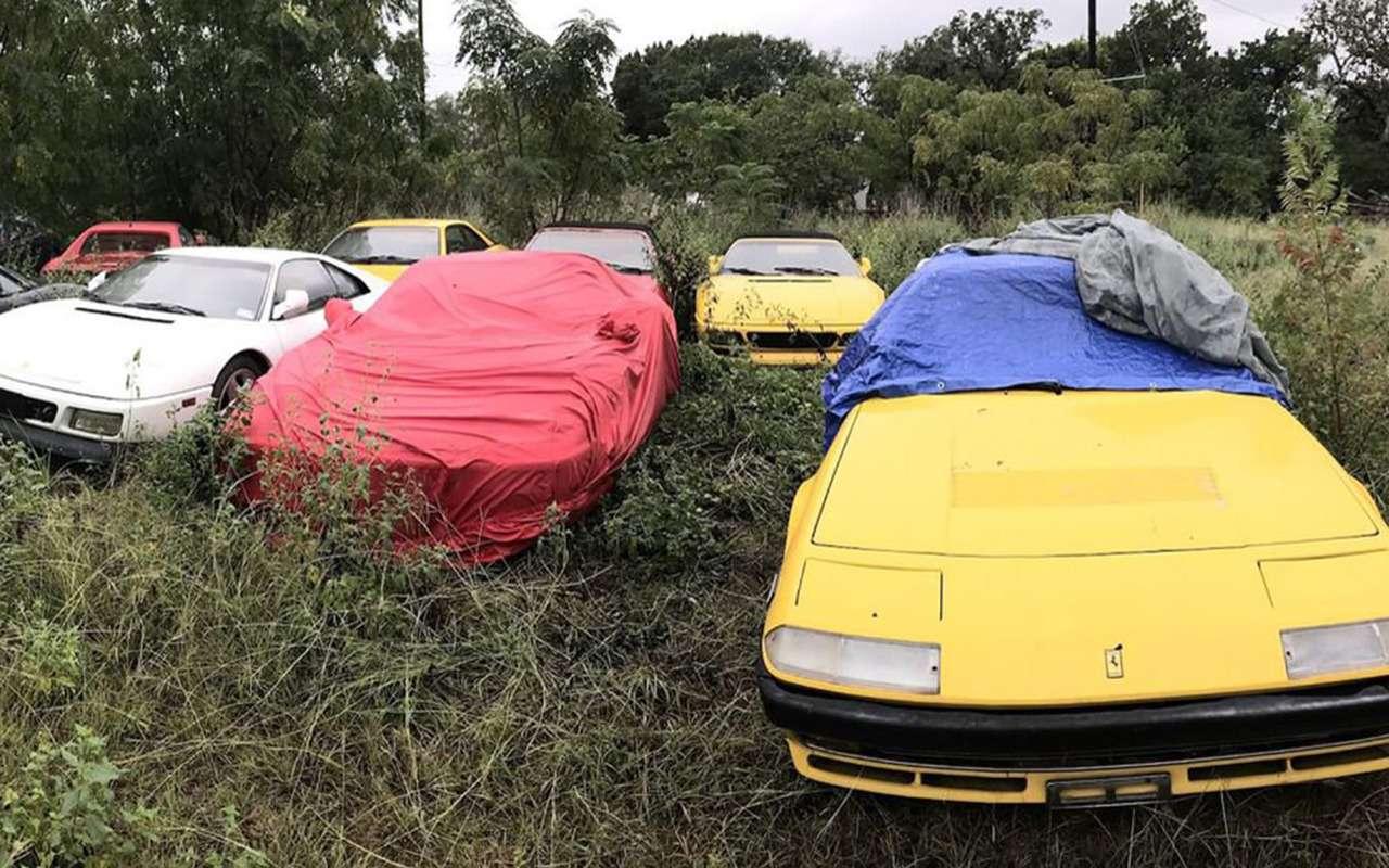 Кладбище забытых Ferrari— грустная история коллекционера— фото 975769