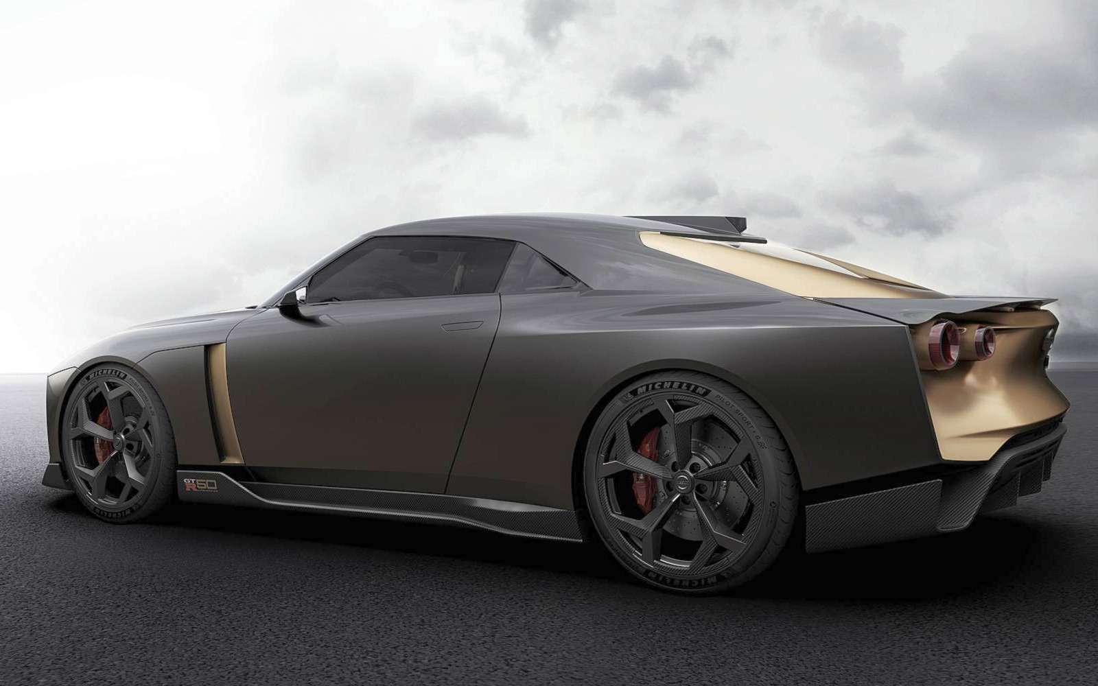 Золотой стандарт: Nissan иItaldesign представили юбилейный GT-R— фото 882726
