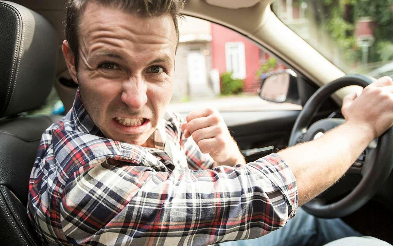 Почему нанаших дорогах так много хамов?— фото 810312