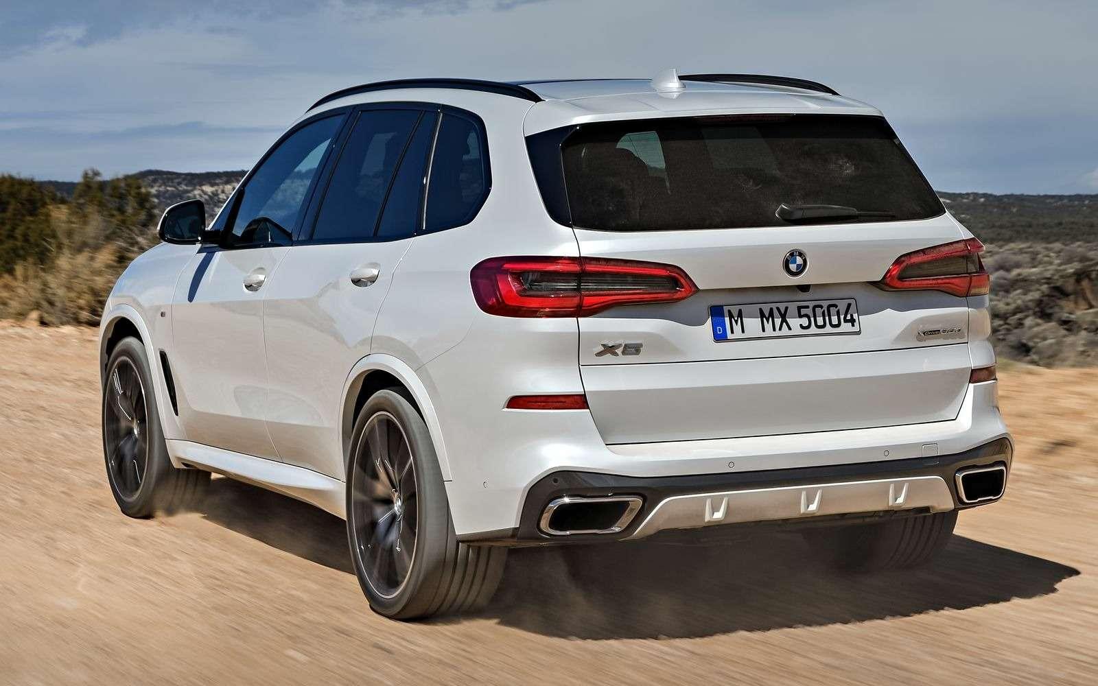 Новый BMW X5: приборная революция!— фото 876638