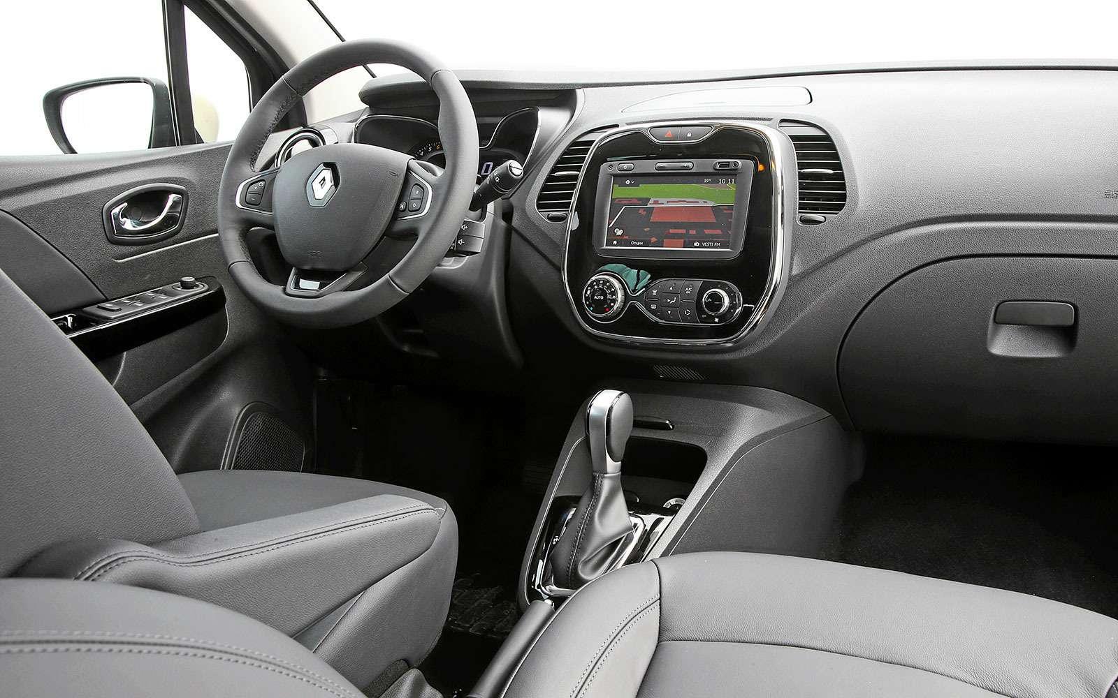 Renault Kaptur, Renault Duster, Suzuki Vitara: мода от-каптюр— фото 619998
