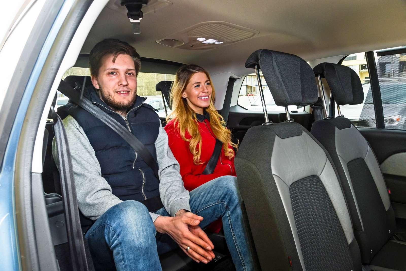 Изящество или практичность? Citroen Grand C4Picasso против VWCaddy Maxi— фото 599150