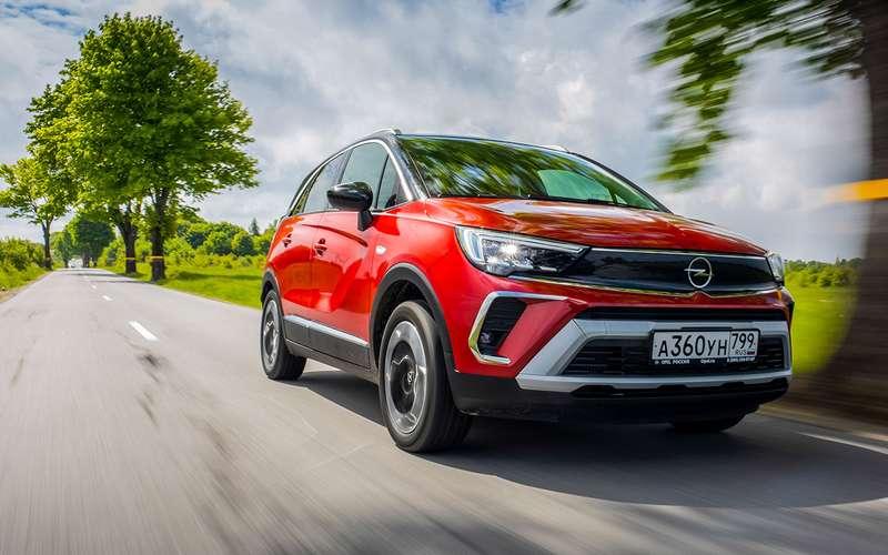 Opel Crossland: подробный разбор нового кроссовера