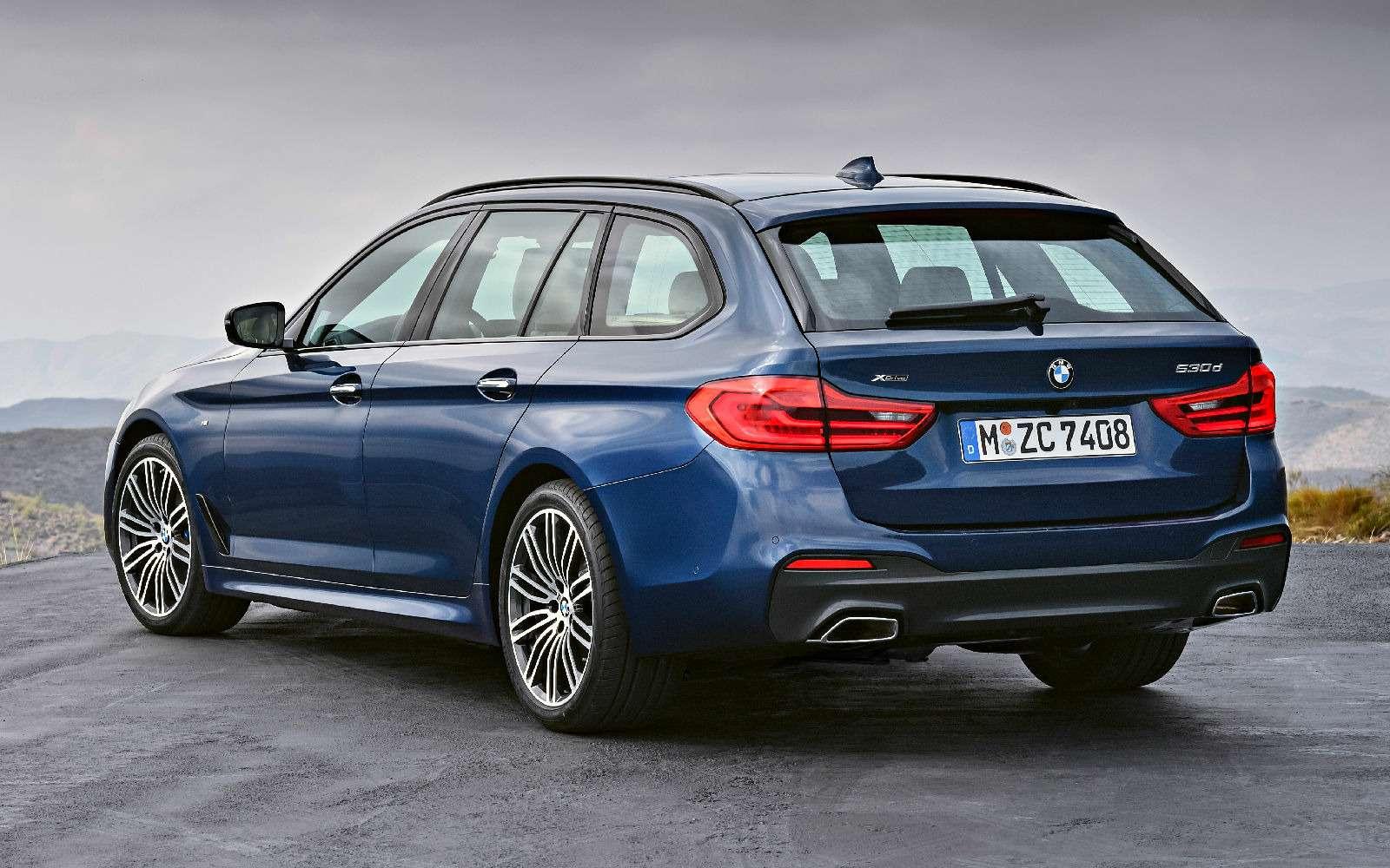 Новая «пятерка» BMW— теперь искузовом универсал— фото 701191
