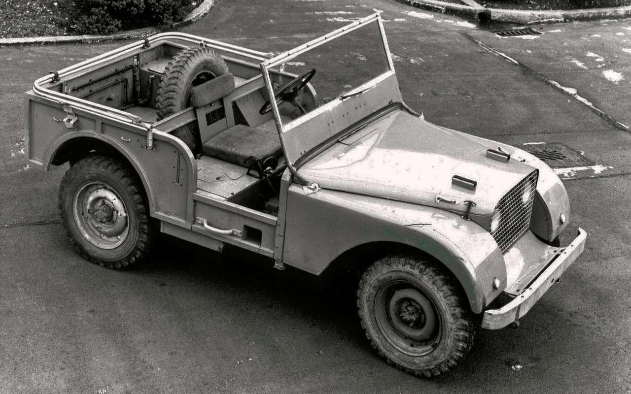 Land Rover Defender: тест сразницей в40лет— фото 1247853