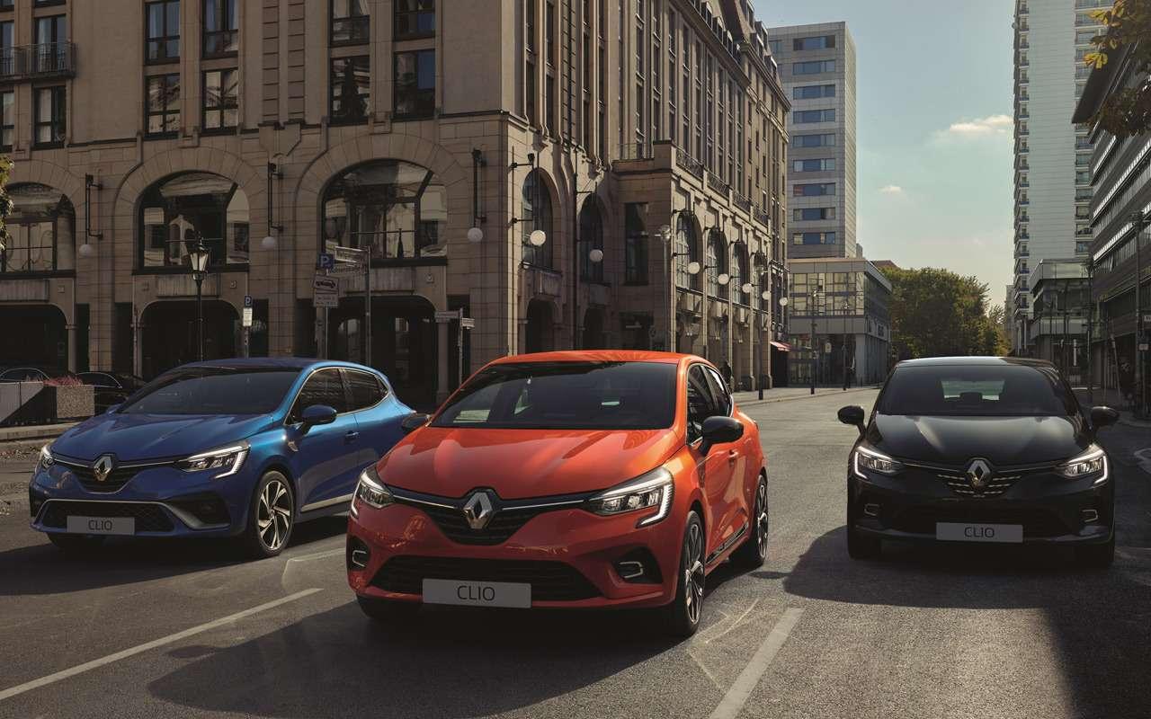 Рассекречена внешность нового Renault Clio— фото 944273