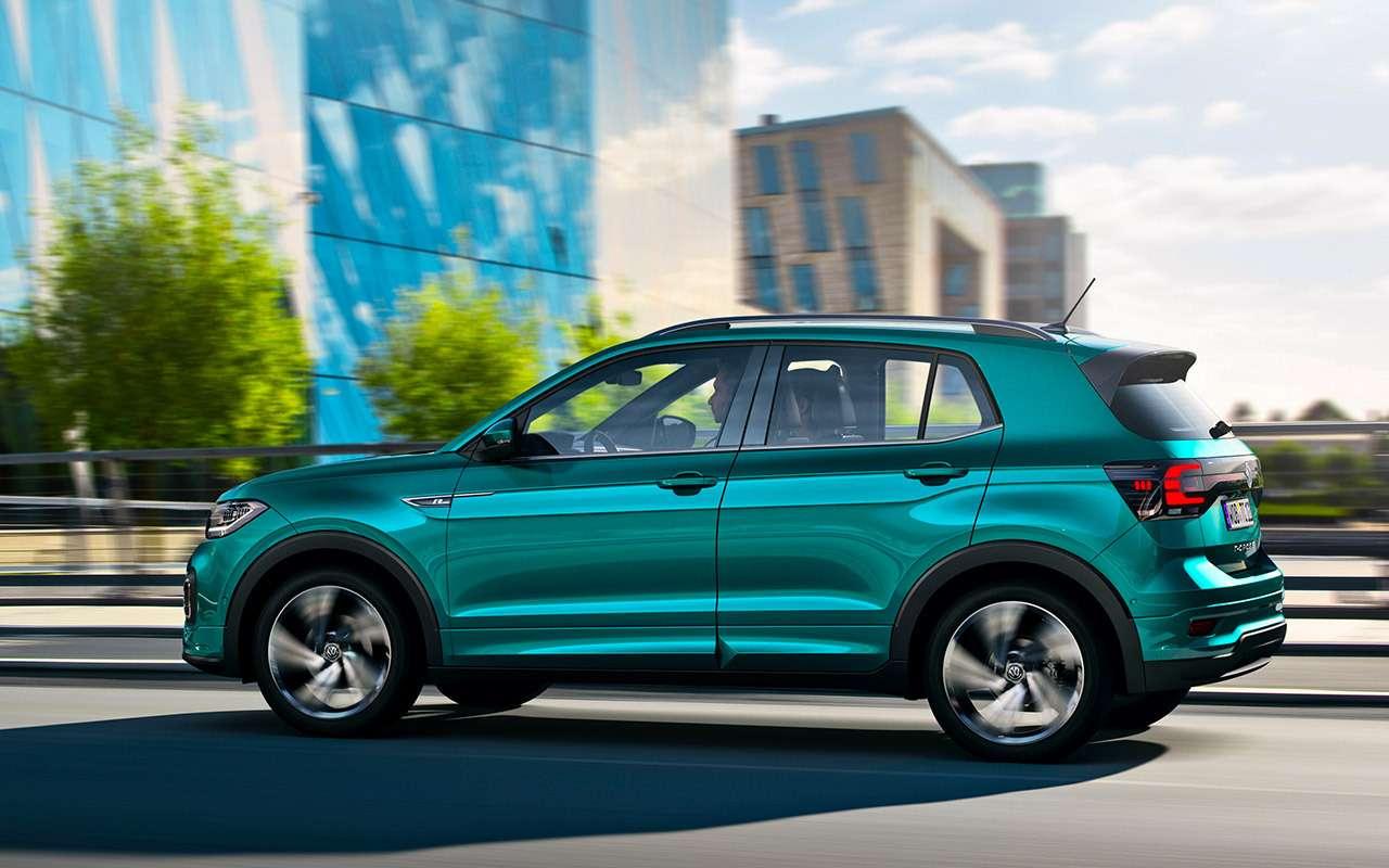 Новый Volkswagen T-Cross— самый легковой кроссовер вклассе— фото 928482