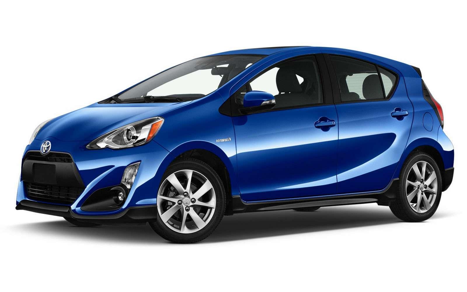 Спасти рядового Приуса: Toyota обновила младшую гибридную модель— фото 691772