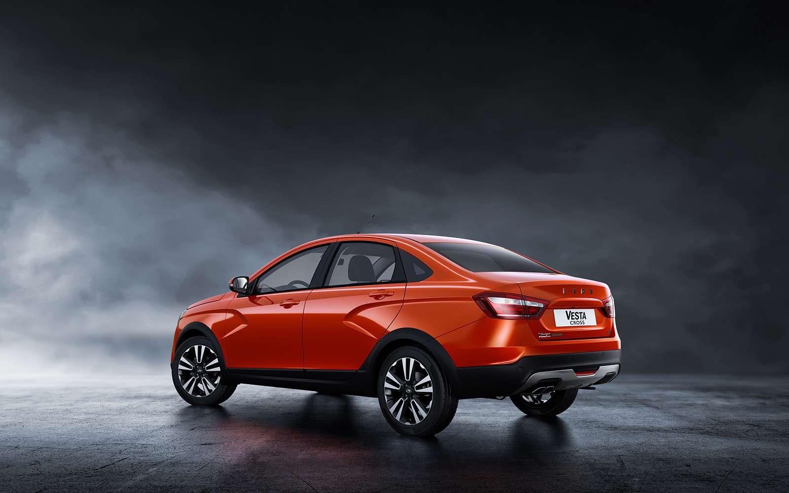 Представлена новая модель Lada. Иэто снова Cross— фото 863333