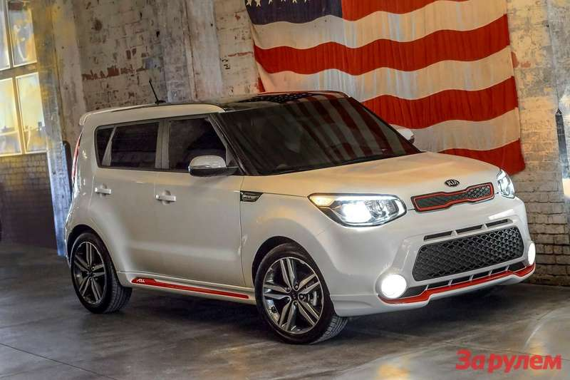 KiaSoul Red Zone special edition