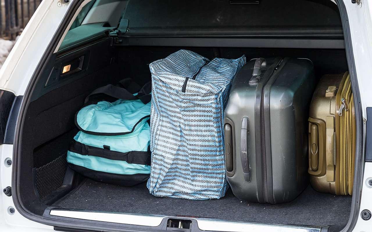 Какзатолкать вбагажник очень-очень много. 10важных правил— фото 966829