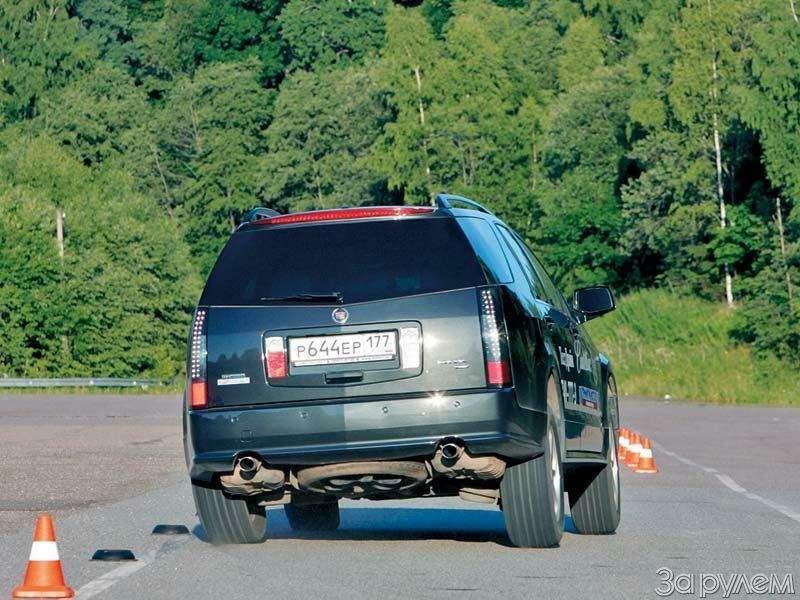 Тест Audi A6Allroad, Cadillac SRX, Volvo XC70. Выше среднего— фото 67372