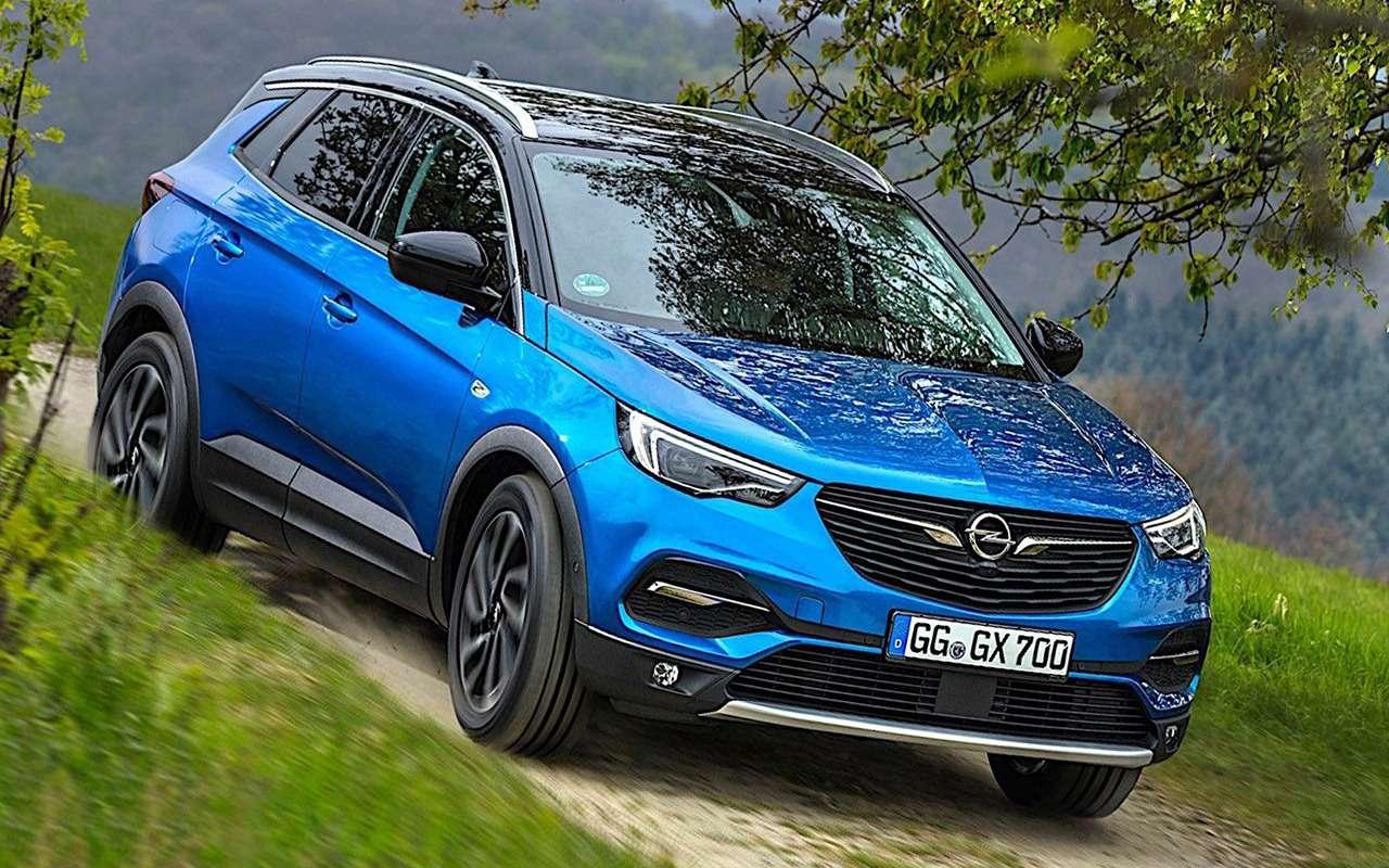 Opel назвал первые модели дляРоссии— фото 957116