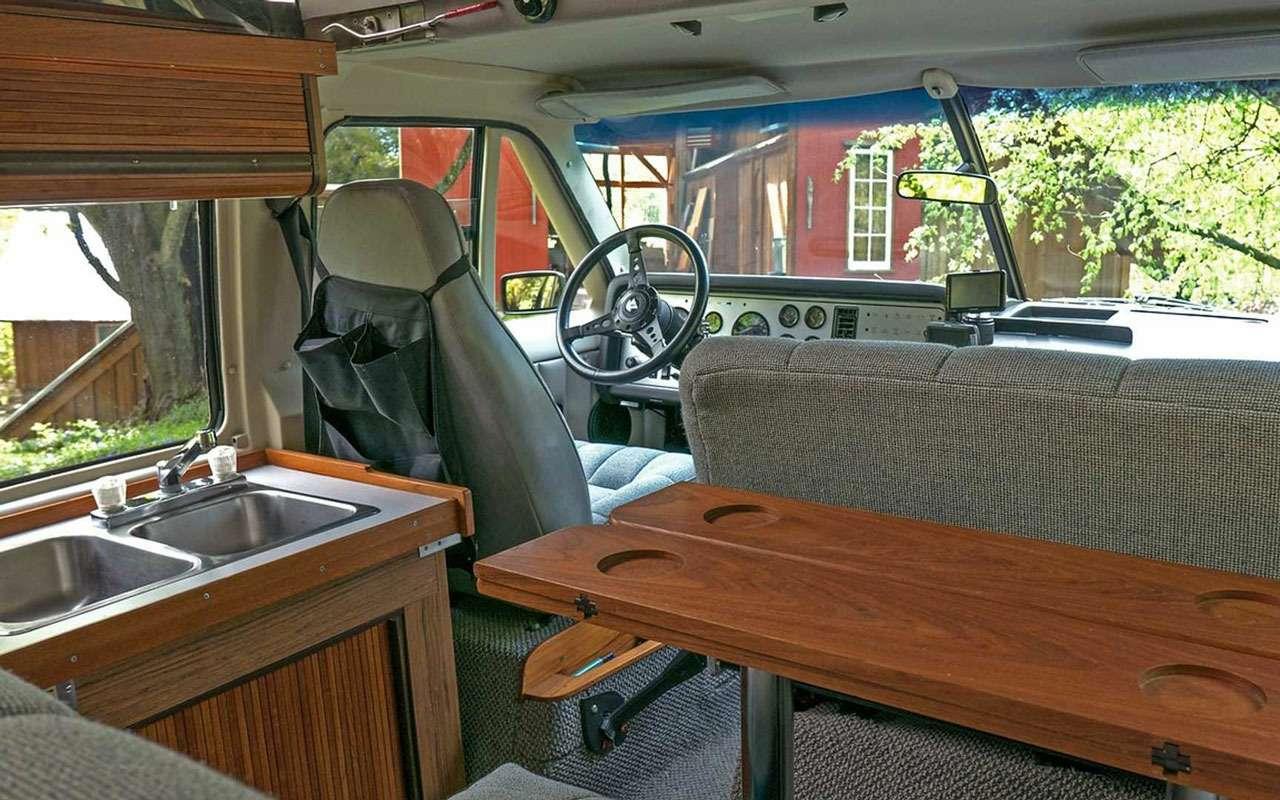 98000км за30лет: уникальный автодом— впродаже— фото 1006093