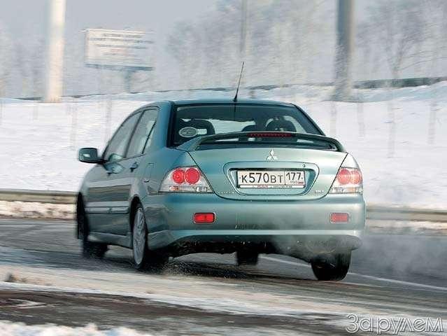 ТЕСТ: Mazda 3и Mitsubishi Lancer. Два литра сверхом— фото 63613