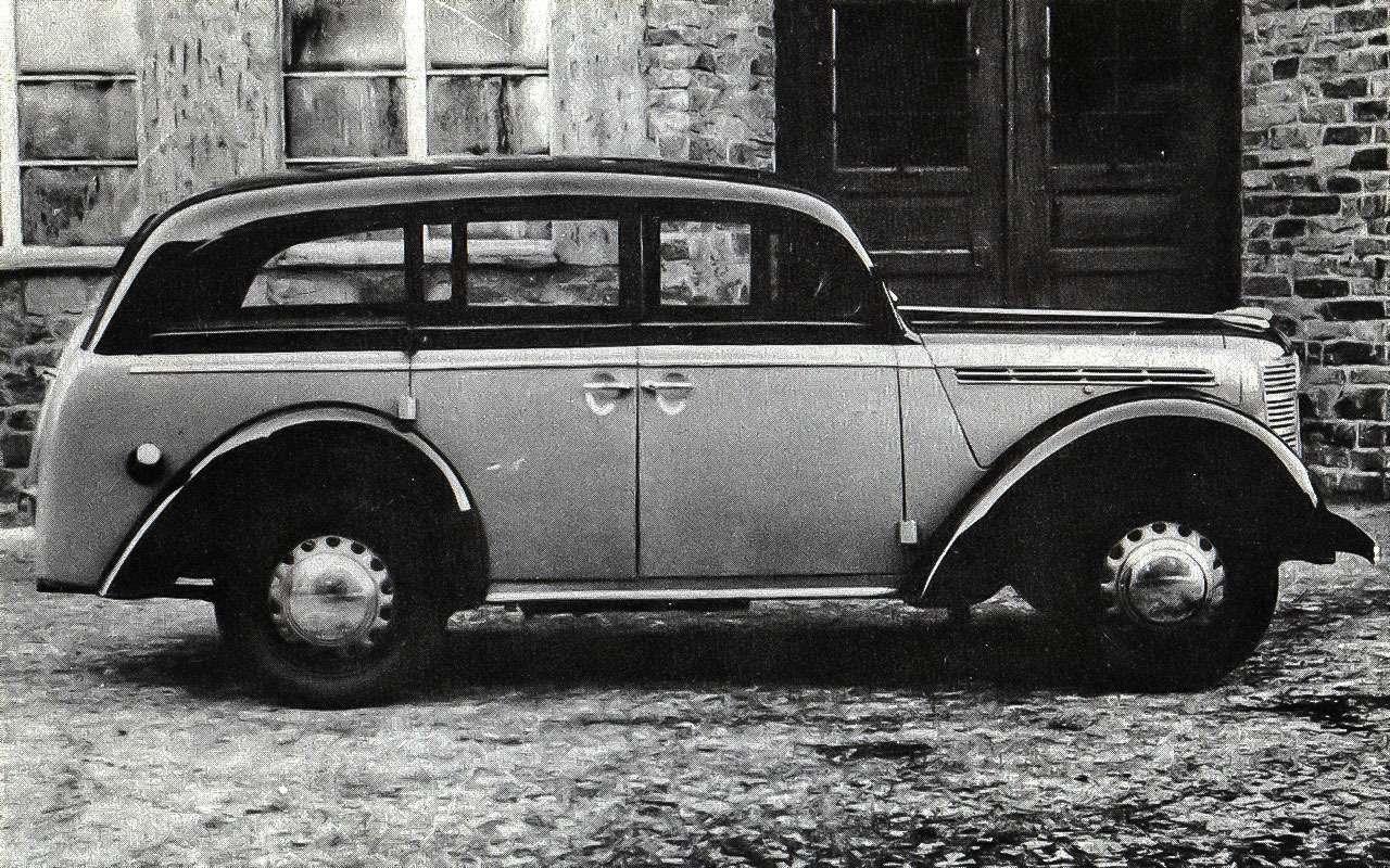 Прототип Москвича 400