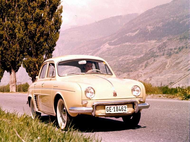 6 Renault Dauphine nocopyright