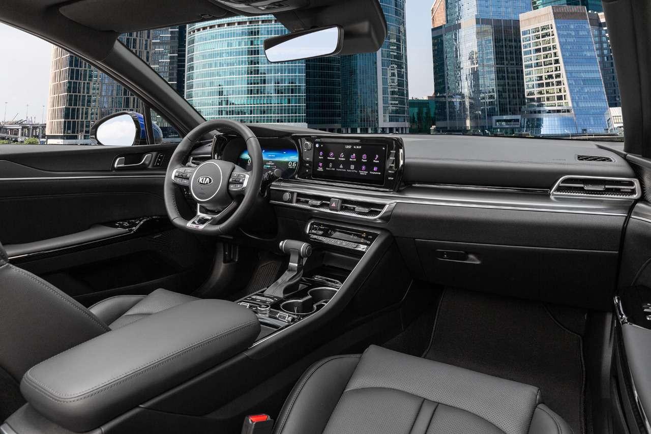 Новый седан Kia K5: цены икомплектации— фото 1157321