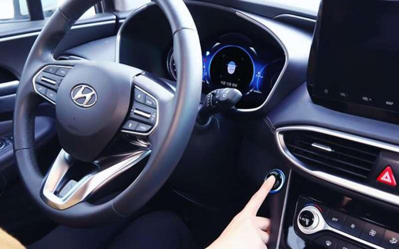 В Hyundai создали систему доступа вавтомобиль поотпечатку пальца