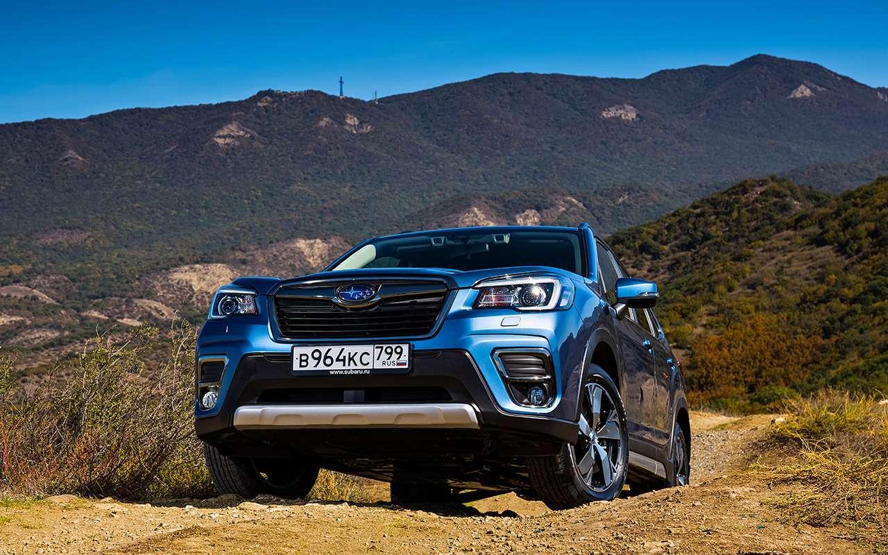Новый Subaru Forester— тест-драйв без наддувательства— фото 930690