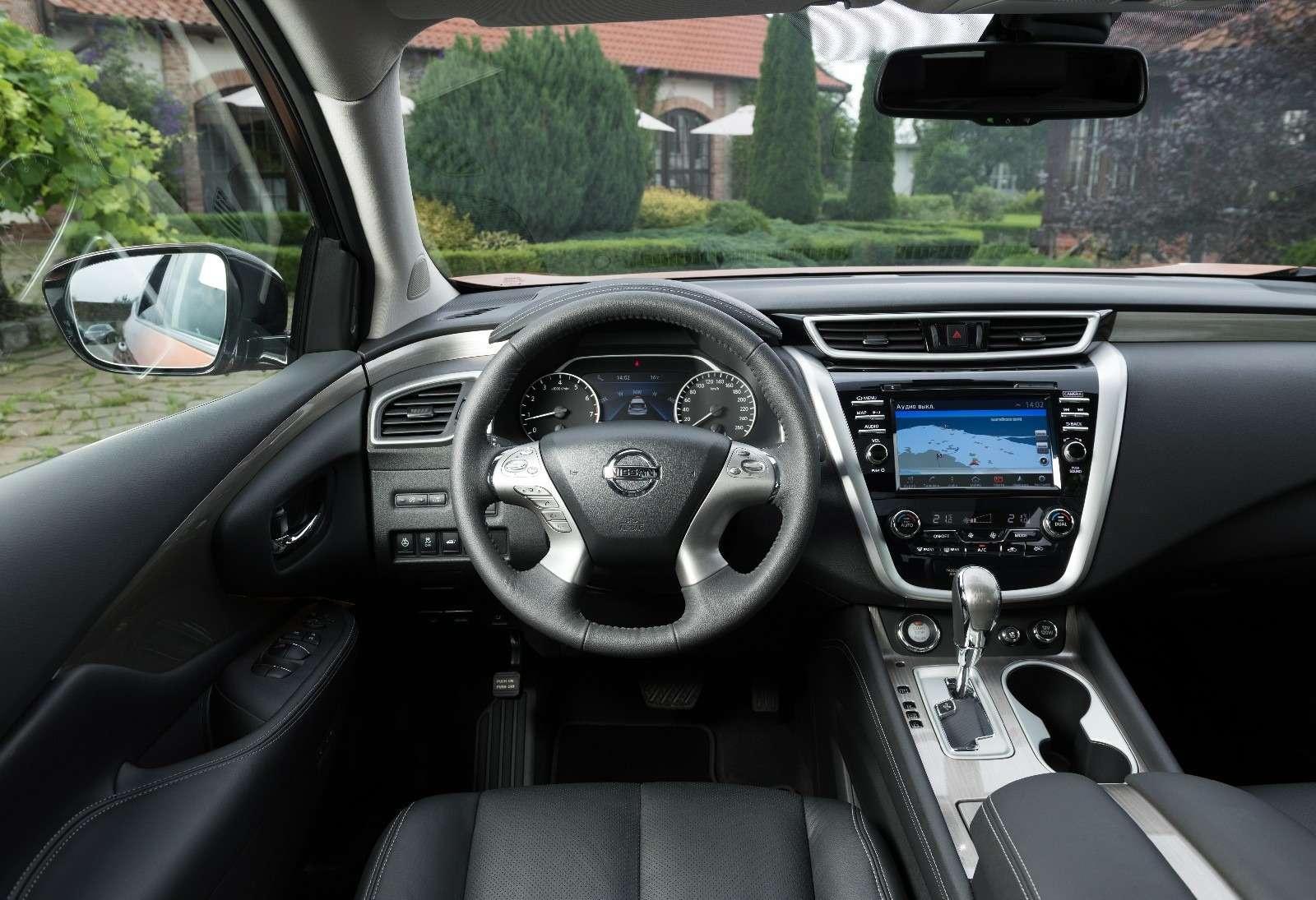 Объявлены рублевые цены нановый Nissan Murano— фото 614374