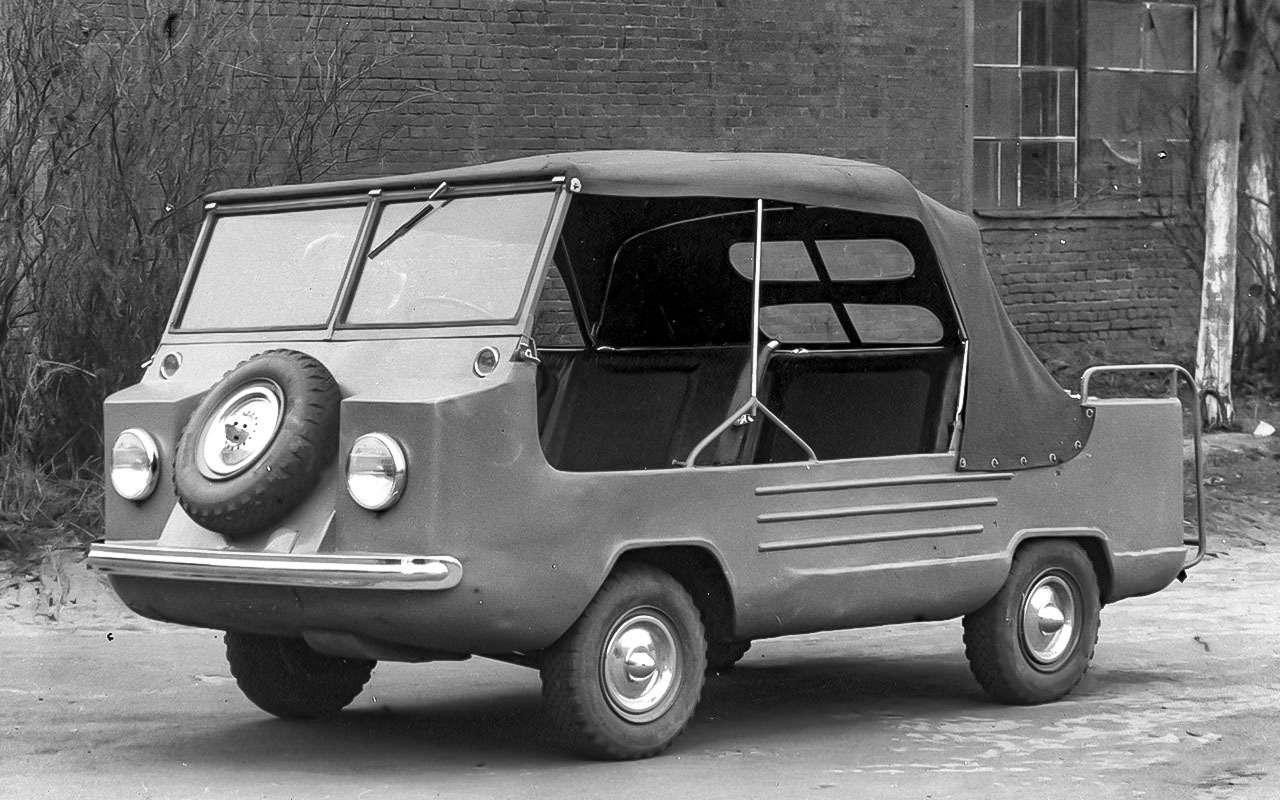 13народных автомобилей СССР, которых какбы не было— фото 1001094