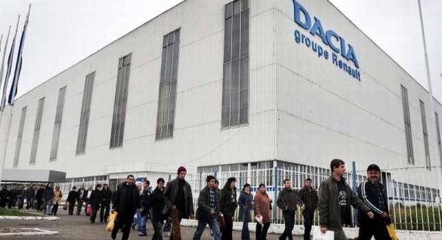 no copyright Dacia plant