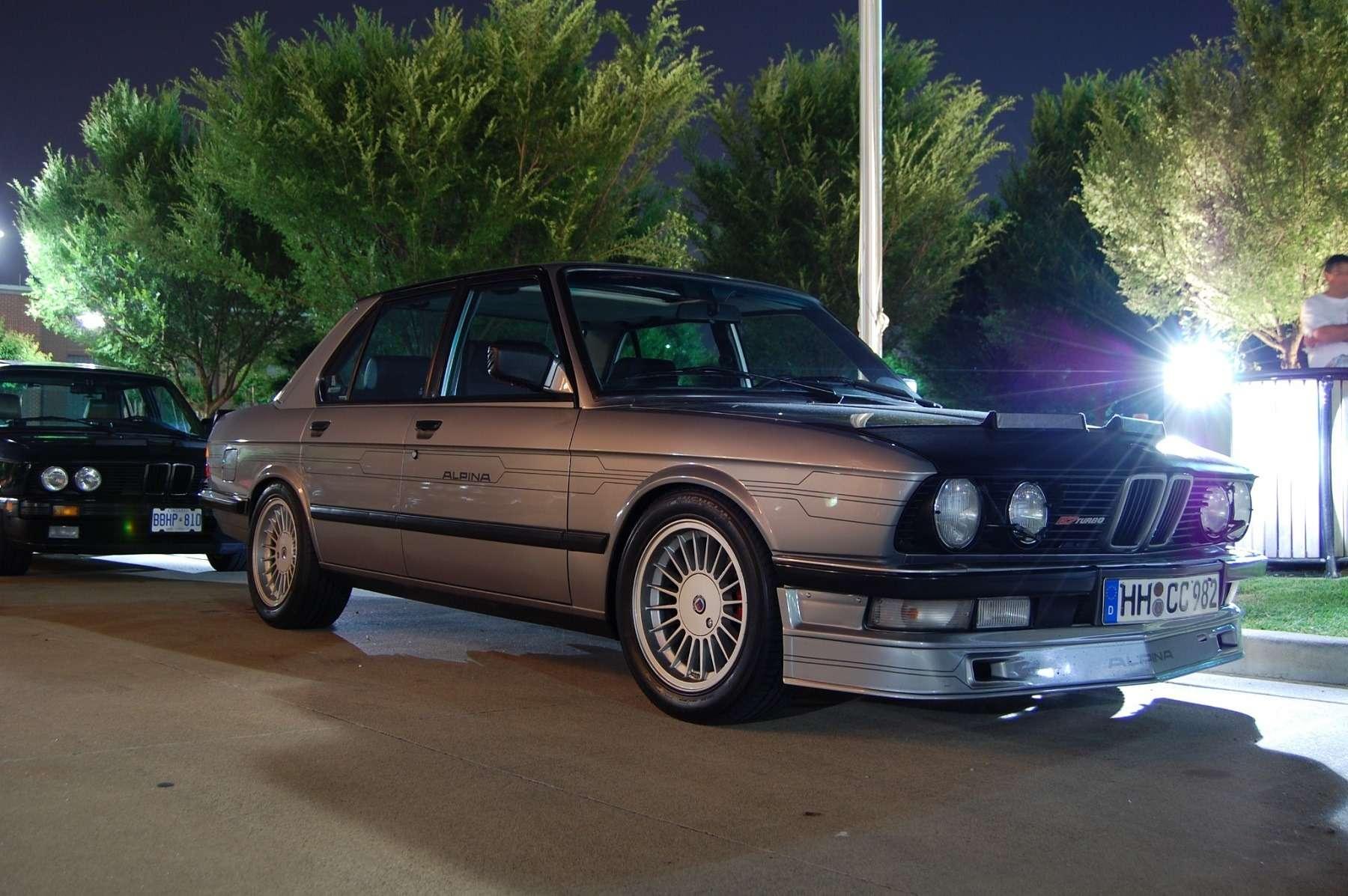 «Биммер» мечты: уникальная Alpina B7 Turbo по цене нового BMW - фото 739726