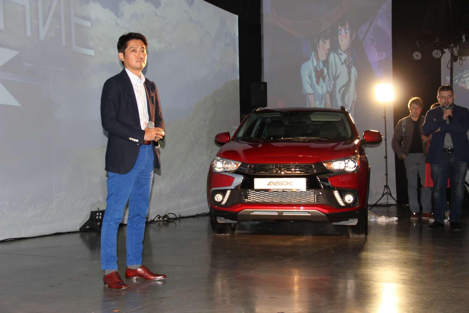 Mitsubishi представила вМоскве обновленный кроссовер ASX— фото 798309