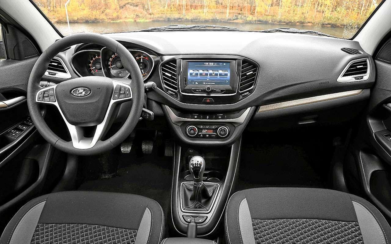 Базовая Lada Vesta SWили нафаршированный Largus— что выбрать?— фото 828175