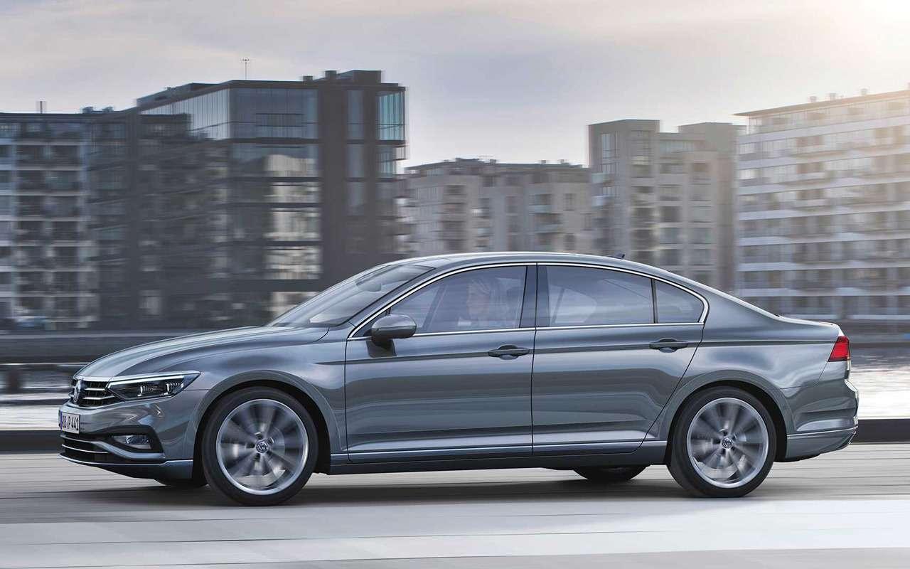 VWпредставил Passat счистым дизелем— фото 954953
