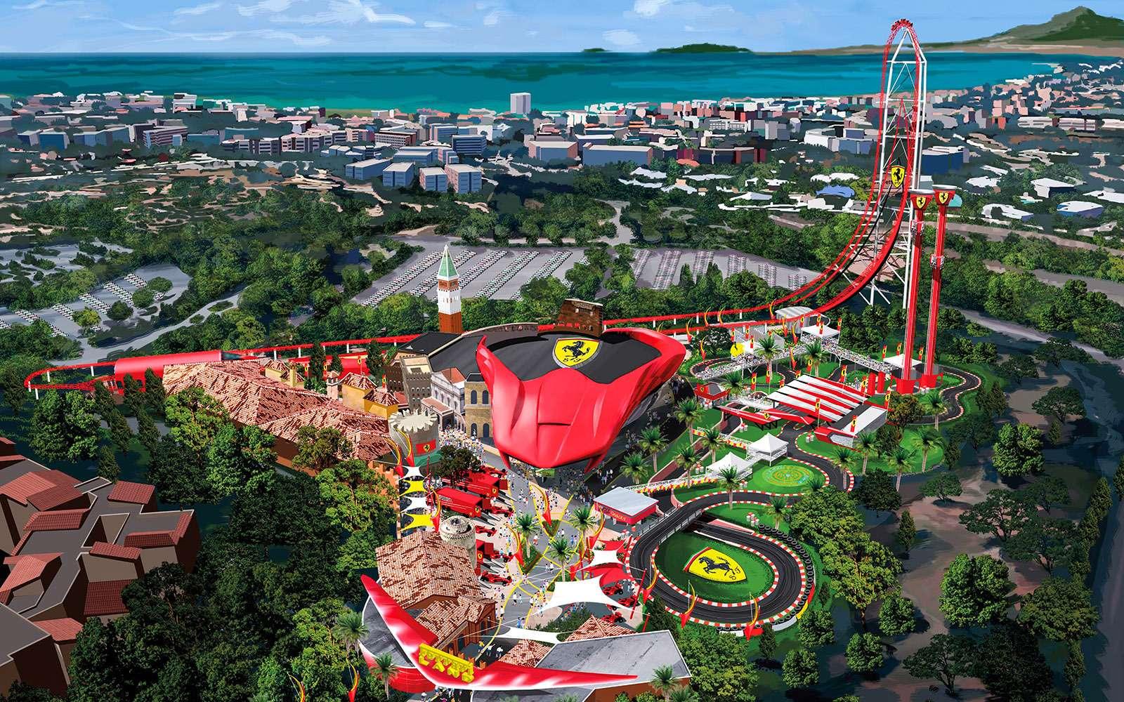 Парк развлечений Ferrari Land: ускоряйтесь!— фото 679338