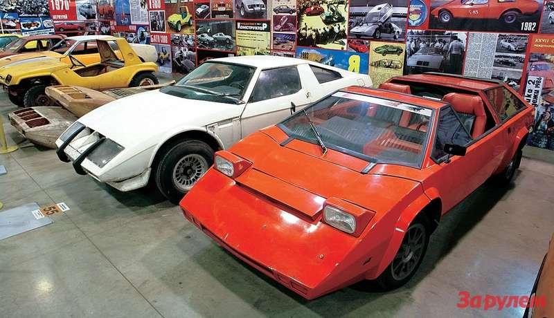 В 1983-м «Панголина» А.Кулыгина изУхты произвела фурор. Футуристический дизайн, регулируемый дорожный просвет, автоматически поднимаемые крыша ибоковины кузова. В2000-м машина поменяла хозяина идошла донаших дней уже переделанной.