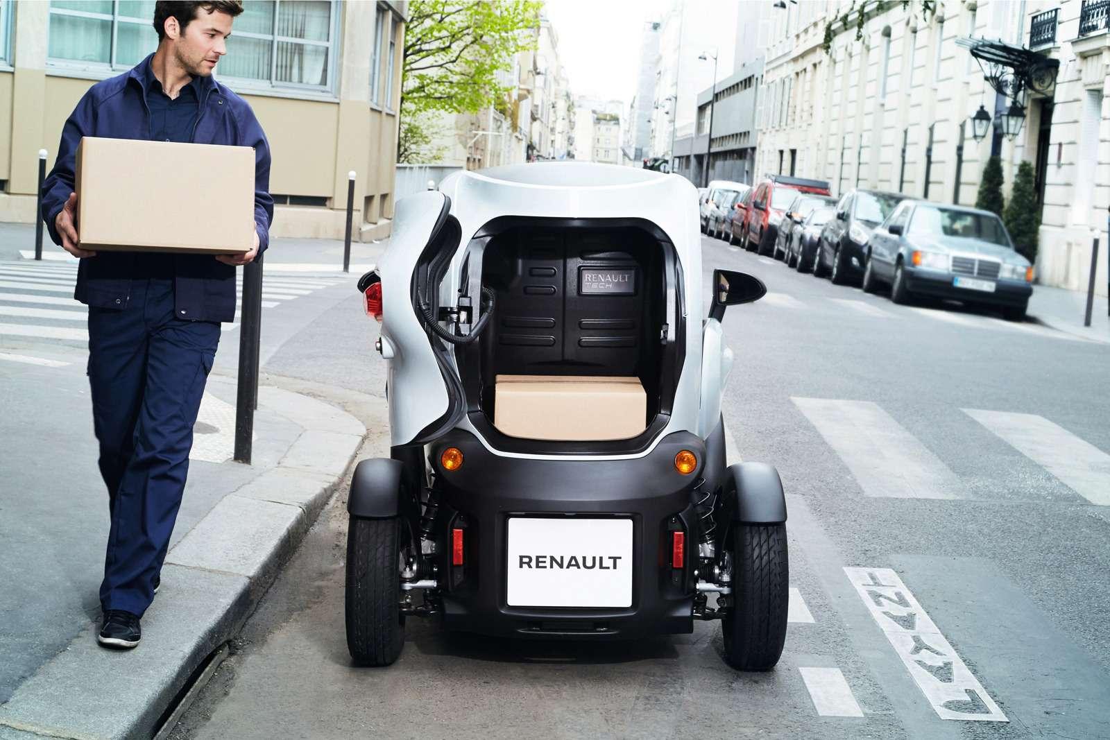 Renault позволила частникам покупать Twizy иKangoo Z.E.— фото 630785