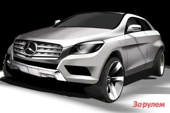 Mercedes-Benz MLC-klasse rendering