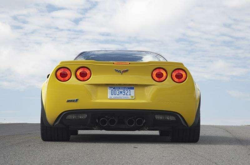 Chevrolet Corvette ZR1в фотографиях— фото 348189