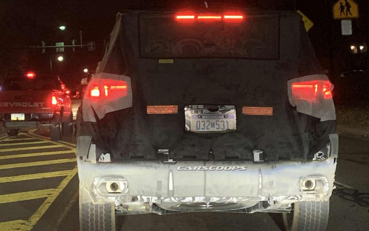 Jeep Grand Cherokee— первые фото нового поколения— фото 1208287