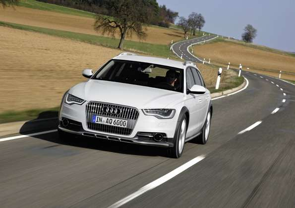 Audi A6allroad quattro /Standaufnahme