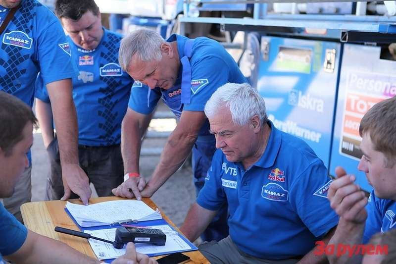 Команда «КАМАЗ-Мастер» примет участие вAbu Dhabi Desert Challenge
