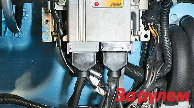 Длягазового ибензинового оборудования один электронный блок