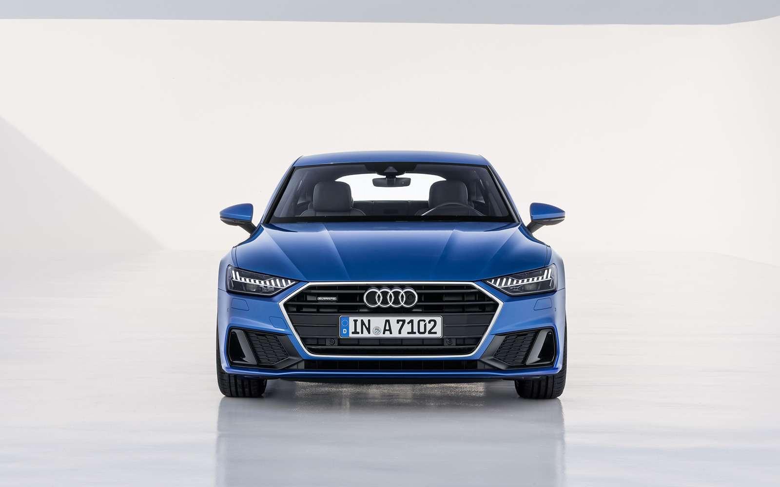Новая Audi A7Sportback— вся насенсорах— фото 807131