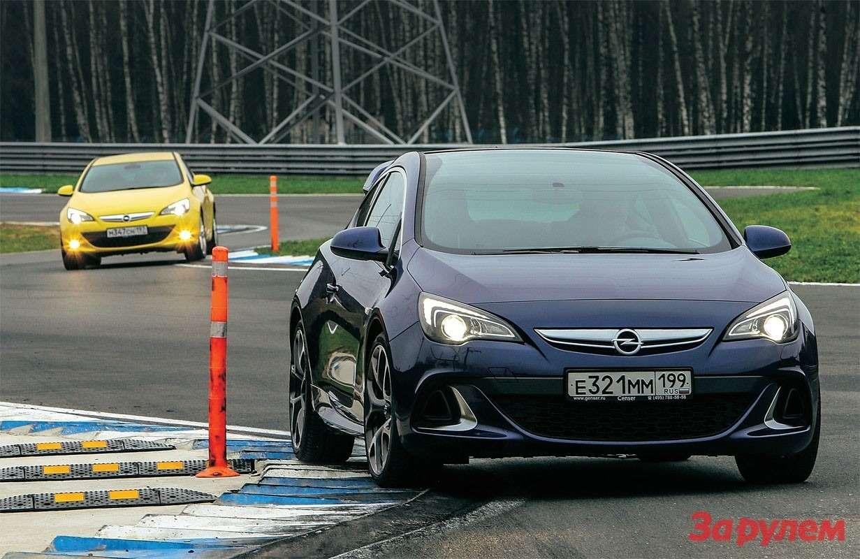 Opel Astra GTC, Opel Astra OPC