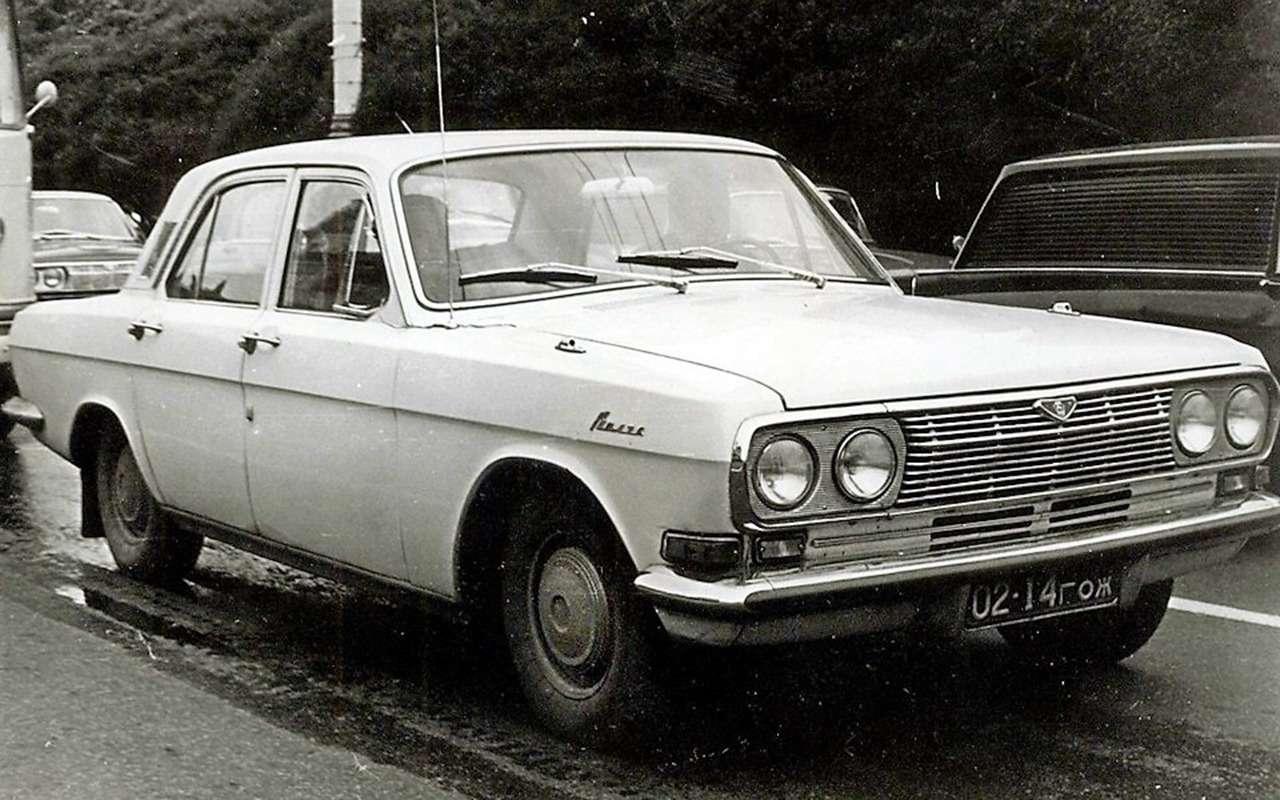 Неизвестная Волга — 15редчайших версий ГАЗ-24— фото 988779