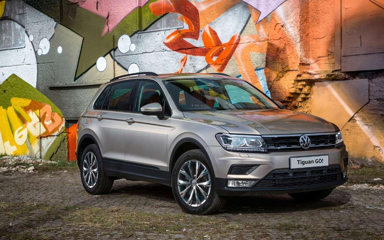 Появилась новая версия Volkswagen Tiguan— GO!— фото 1137421