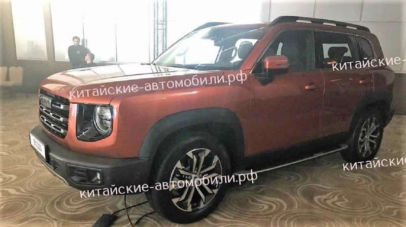 Конкуренты УАЗа отHaval: первые фото вРоссии