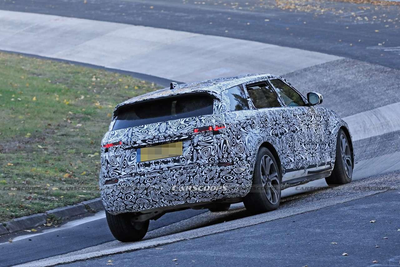 Удлиненный Range Rover Evoque: скоростные тесты— фото 1196322