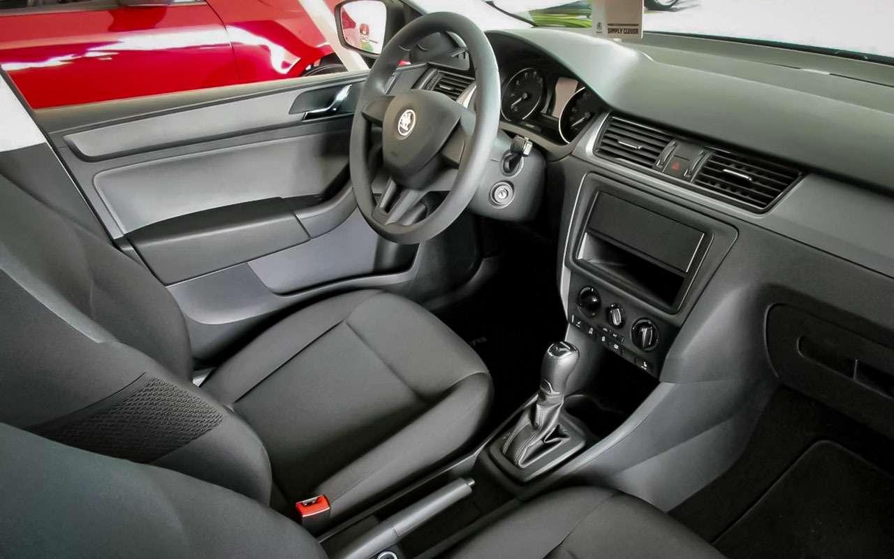 Skoda Rapid или Volkswagen Polo— ЗРпомогает сделать выбор— фото 792149